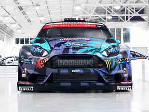 Ford Fiesta ST RX43 Ken Block Rallycross Car 2013