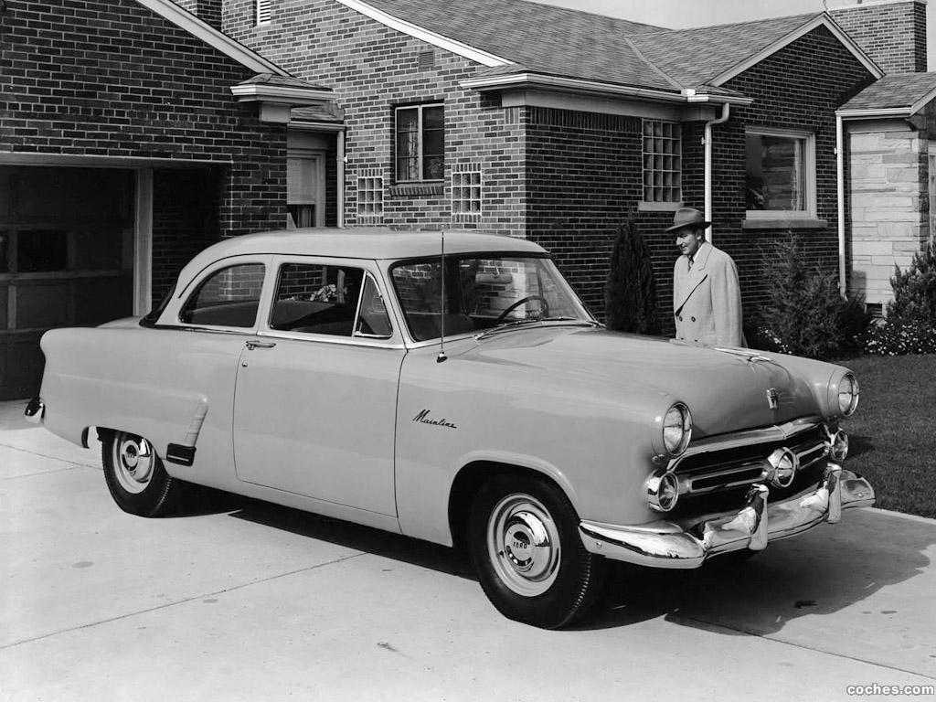 1954 Ford Mainline1954 Customline 2 Door Sedan Photographed Main Line Fotos De Mainline 70a Puertas 1952