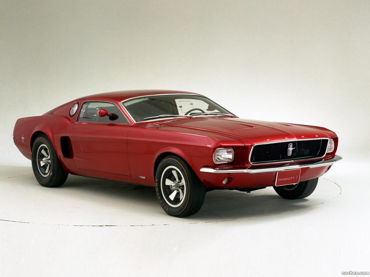 Ford mustang mach 1 prototype no2 1965