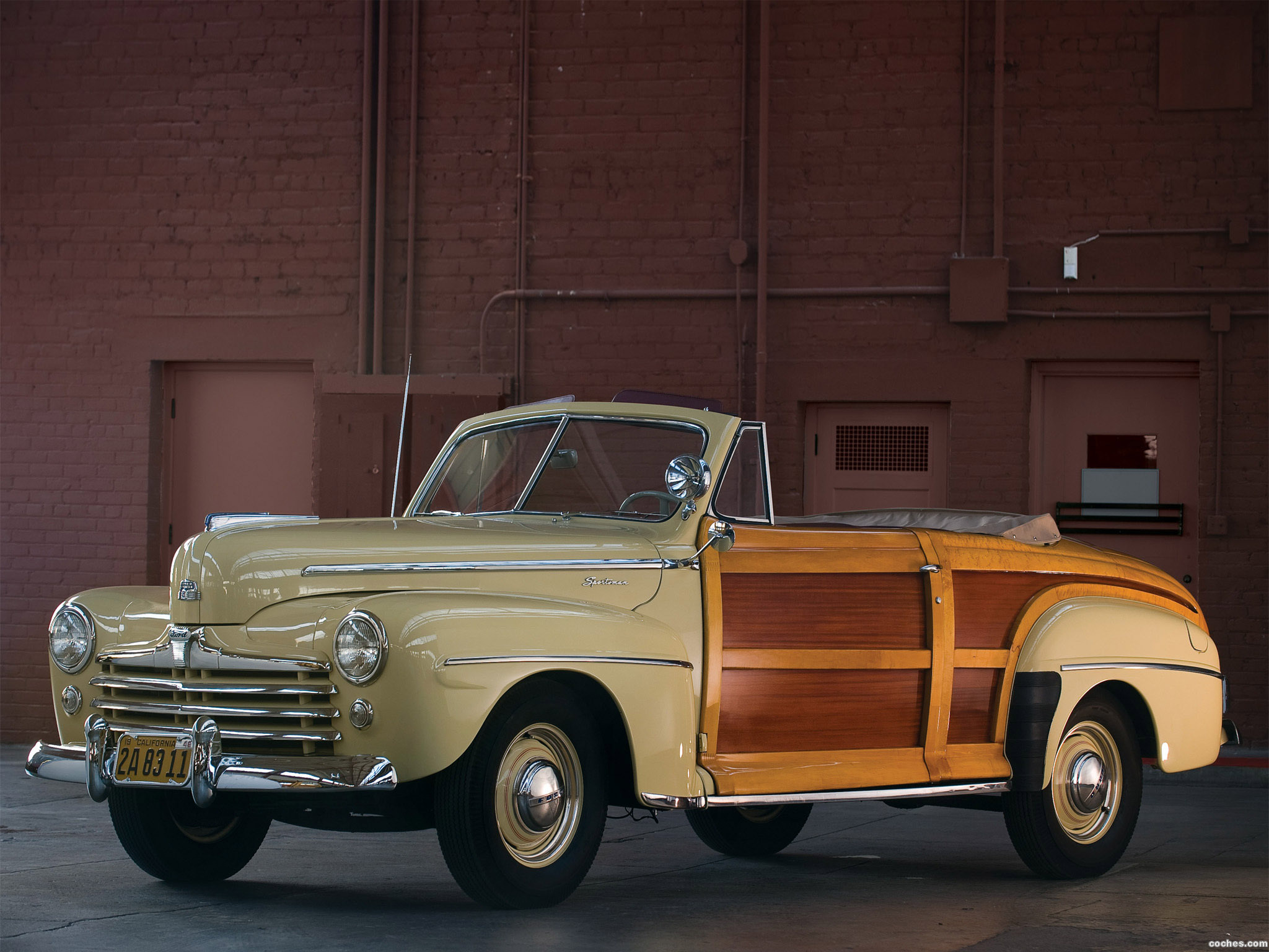Fotos De Ford Super Deluxe Sportsman Convertible 1947