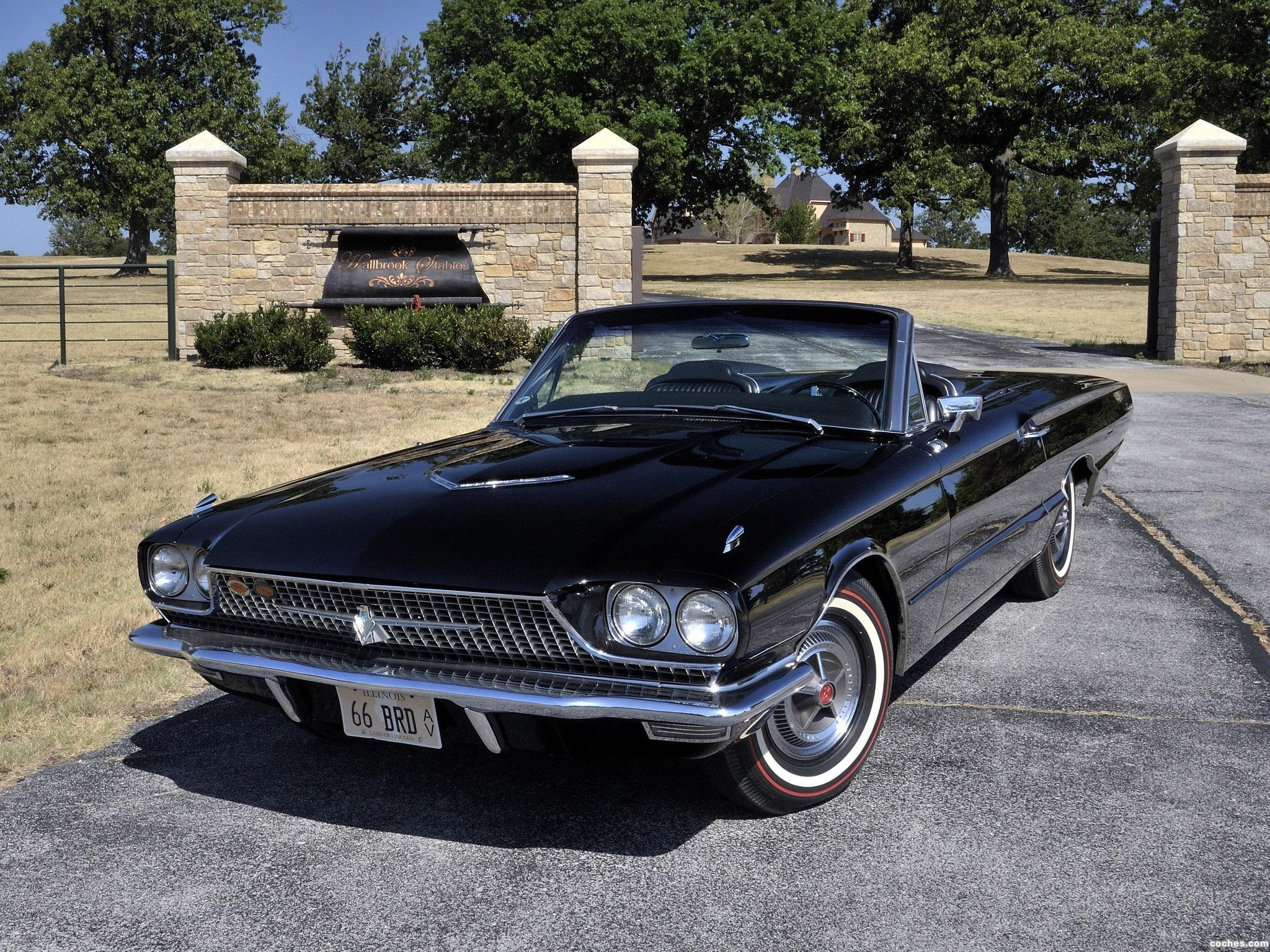 Fotos De Ford Thunderbird Convertible 76a 1966
