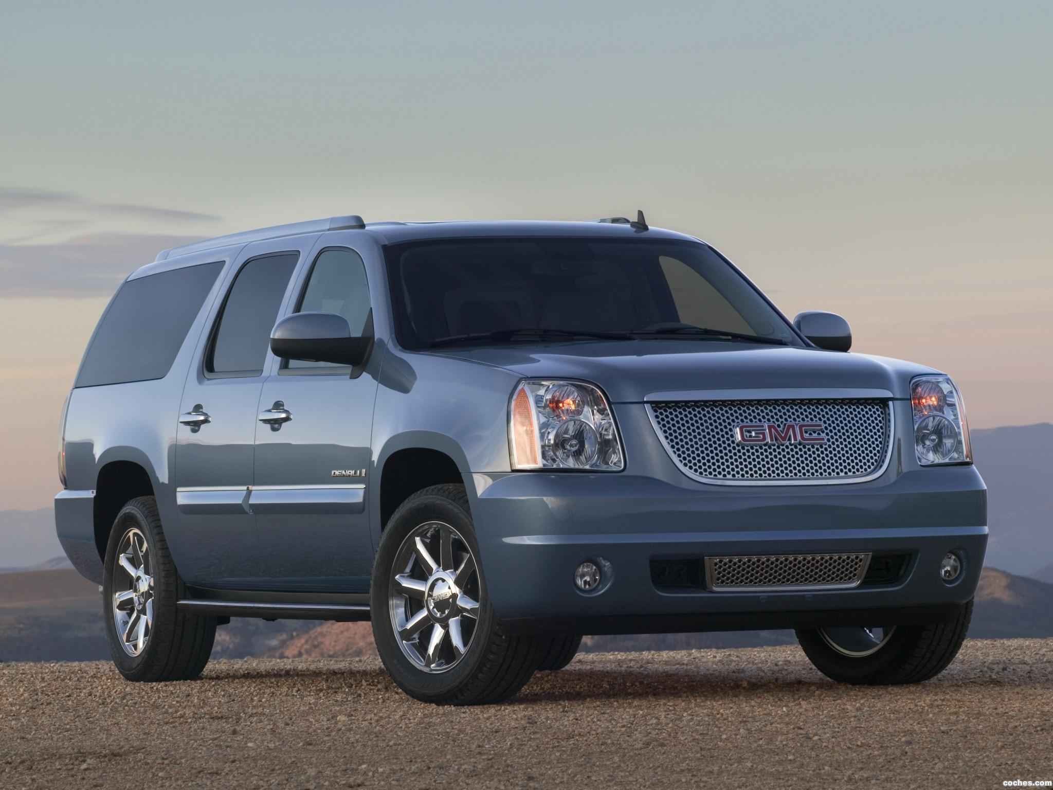 fotos de gmc yukon xl denali 2007. Black Bedroom Furniture Sets. Home Design Ideas
