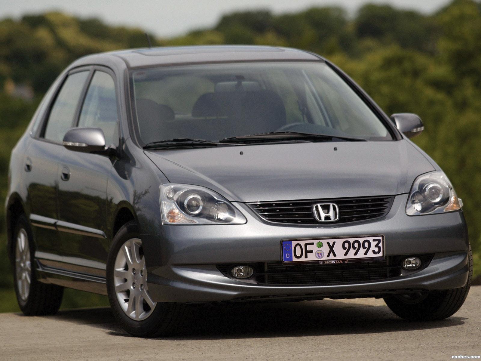 Fotos de Honda Civic 5 puertas 2003
