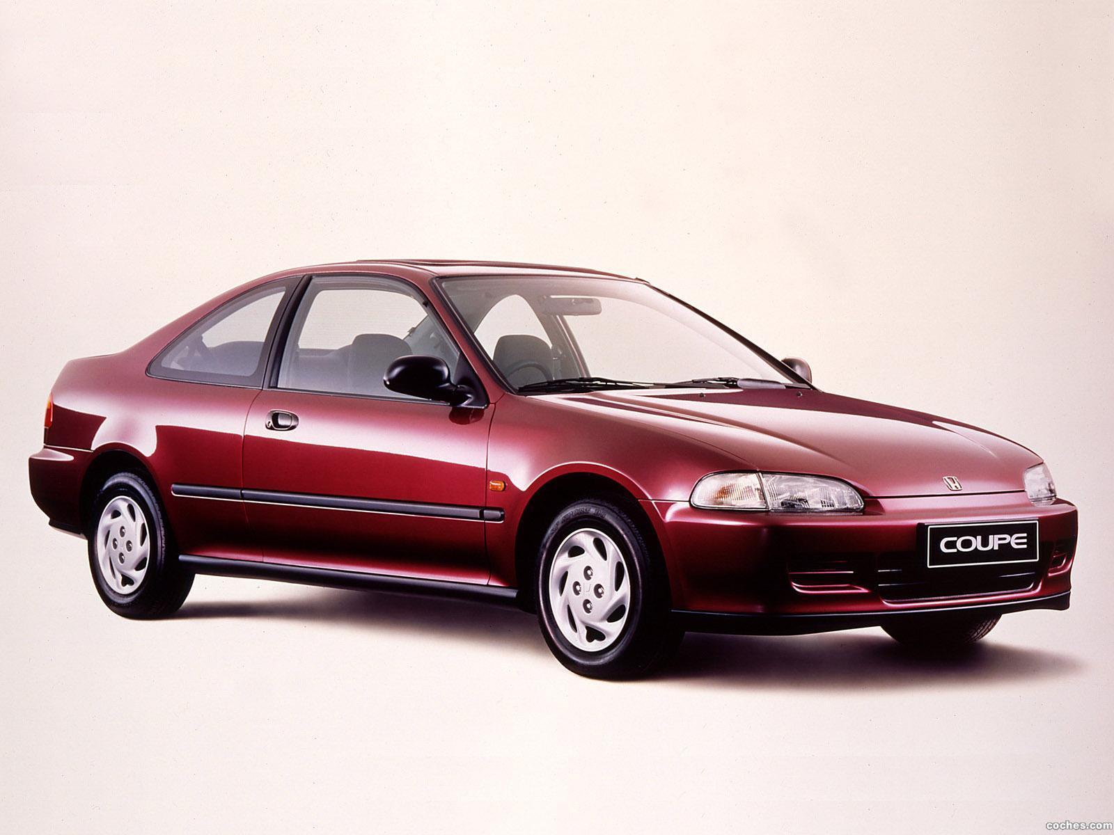 Fotos de Honda Civic Coupe 1993