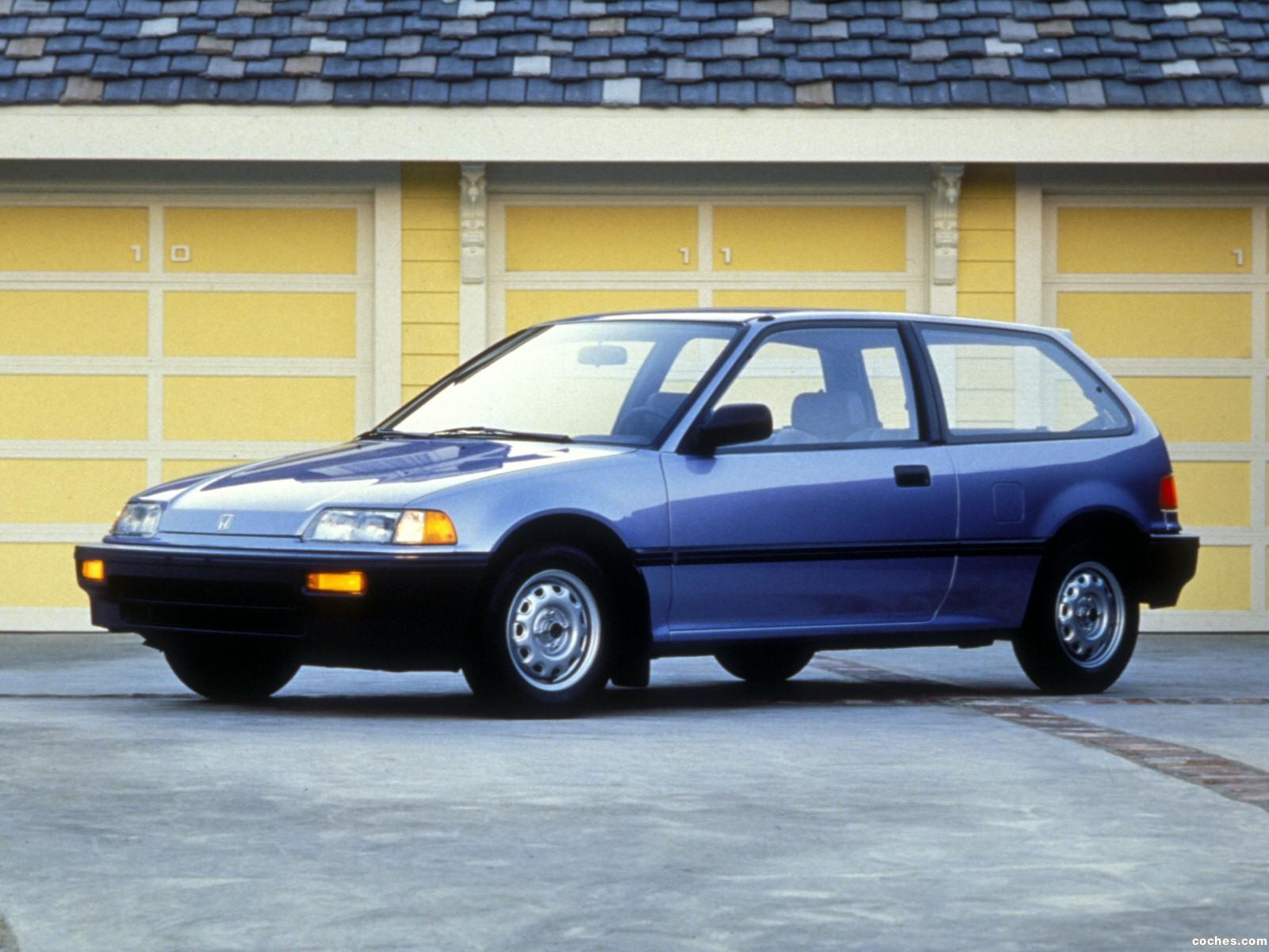 fotos de honda civic hatchback 1987. Black Bedroom Furniture Sets. Home Design Ideas