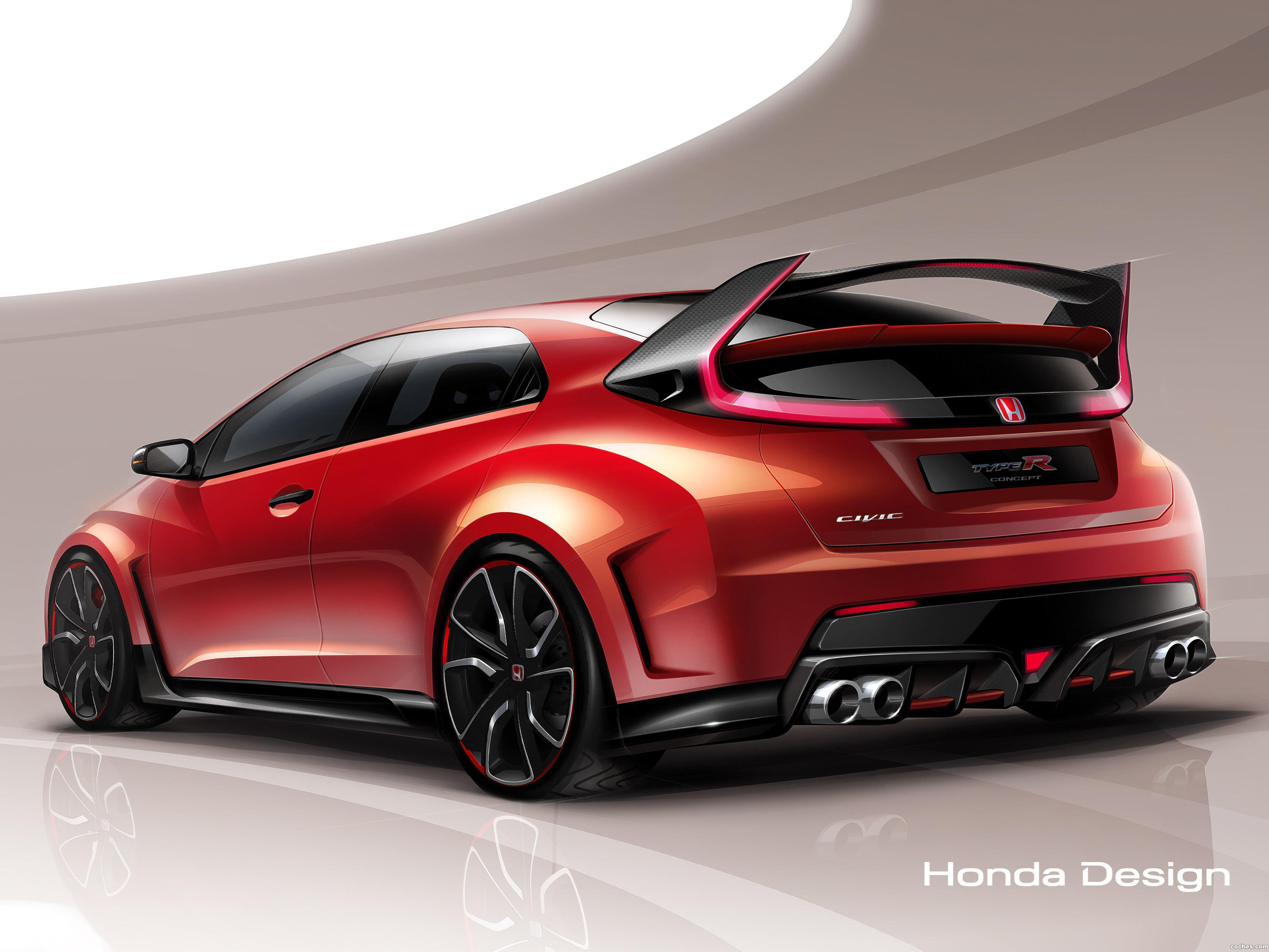 14 best Honda Civic Type R Concept images on Pinterest