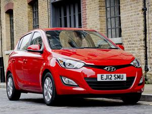 Hyundai i20 UK 2012