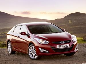 Hyundai i40 Sedan UK 2012