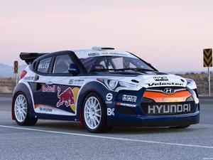 Hyundai Veloster RMR Red Bull Rally Car 2011