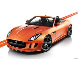Jaguar F-Type Firesand 2013