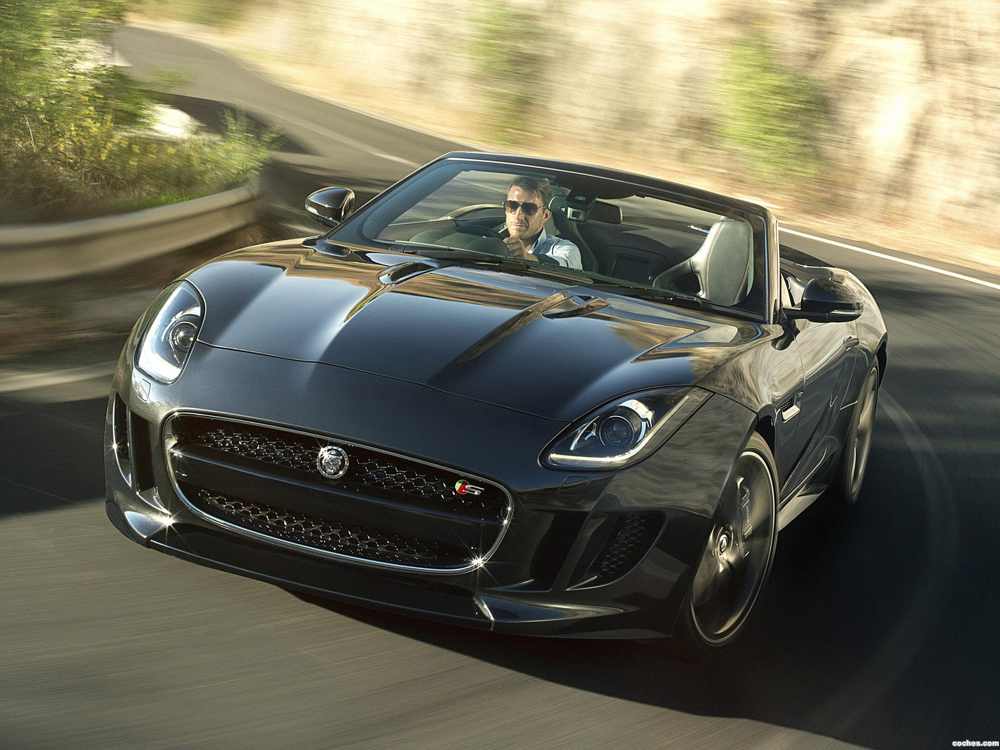 fotos de jaguar f type v8 s uk 2013. Black Bedroom Furniture Sets. Home Design Ideas