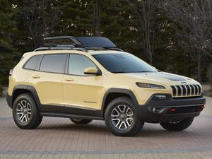 Jeep Cherokee Dakar Concept 2014