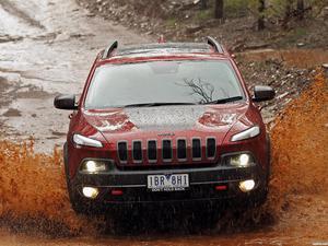 Jeep Cherokee Trailhawk Australia 2014