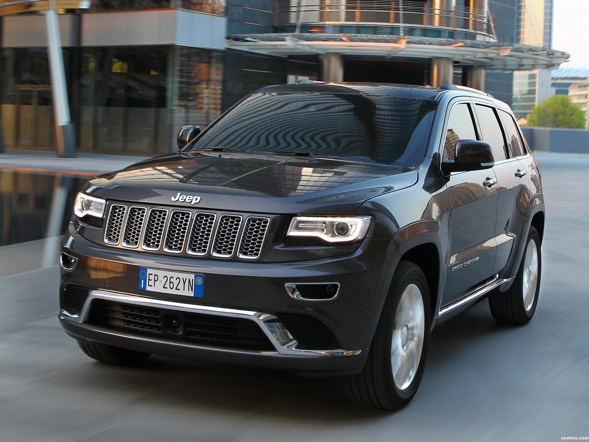 Fotos de Jeep Grand Cherokee Summit Europe 2013