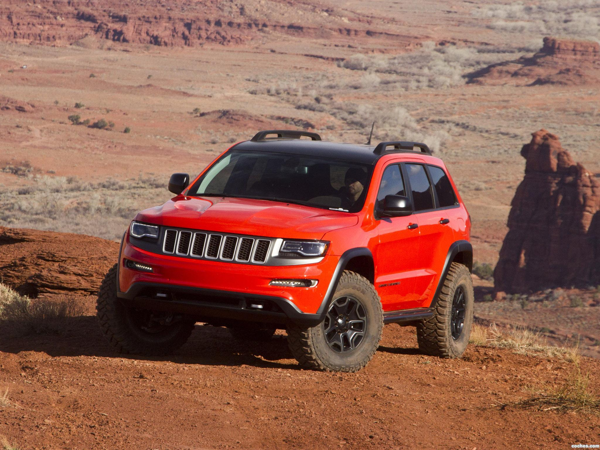 Lifted Jeep Cherokee >> Fotos de Jeep Grand Cherokee Trailhawk II Concept 2013