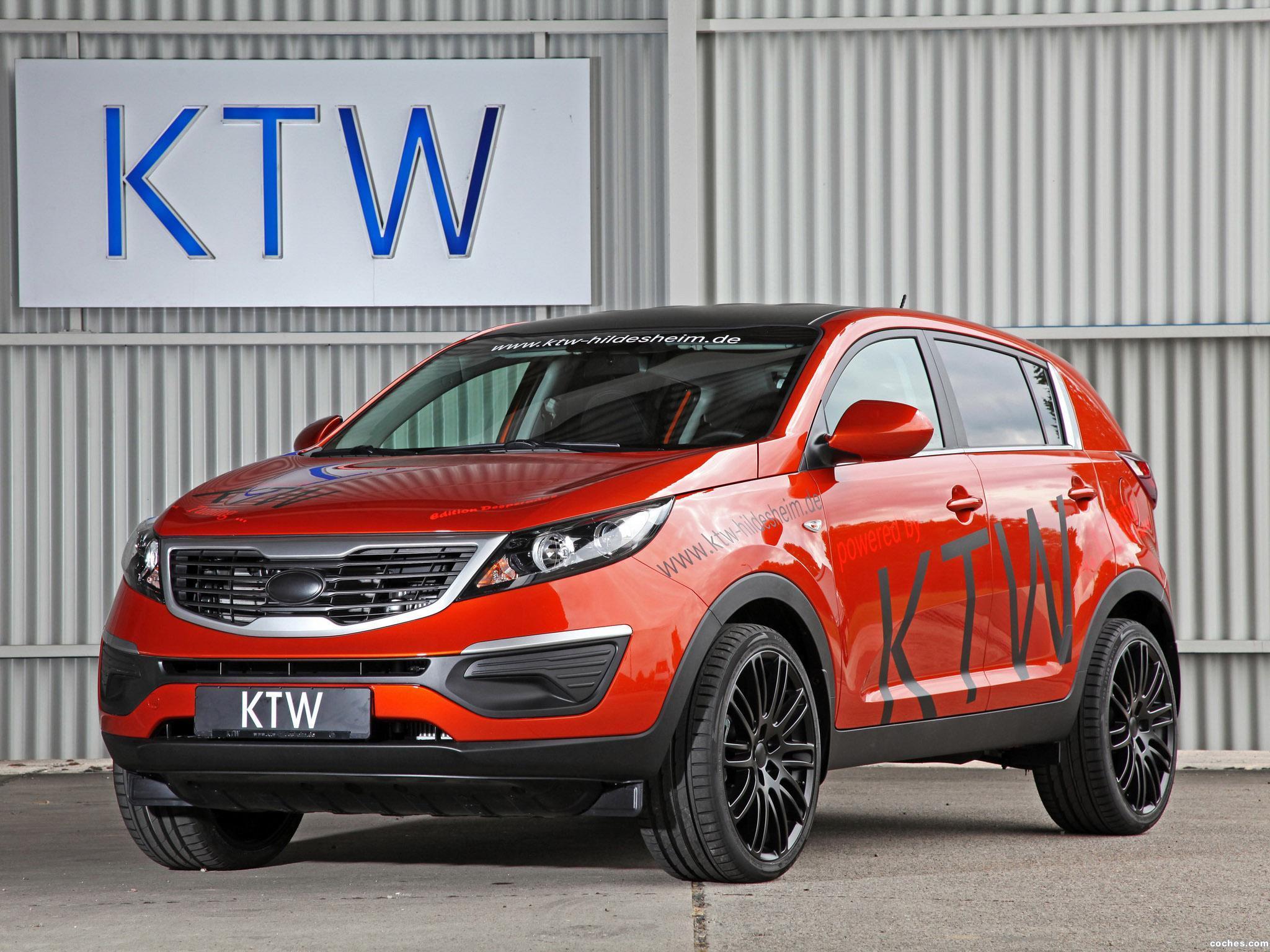 Kia Sportage Edition Desperados By Ktw Tning R