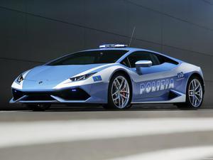 Lamborghini Huracan LP610-4 Polizia LB724 2014