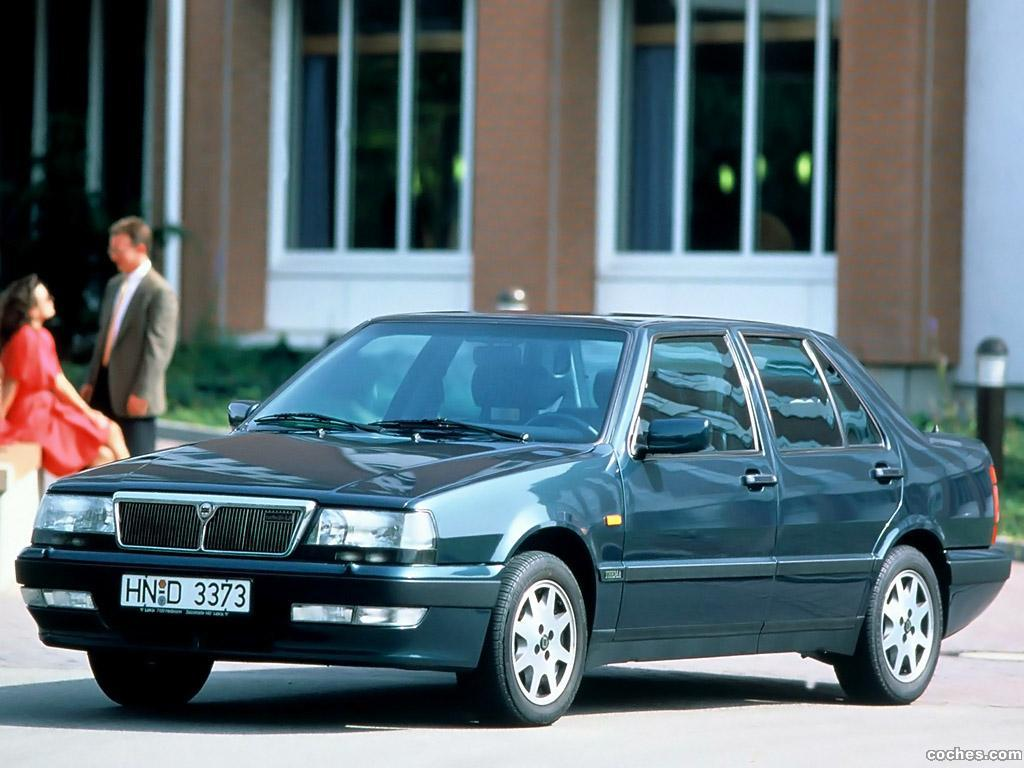fotos de lancia thema turbo 16v 1992. Black Bedroom Furniture Sets. Home Design Ideas