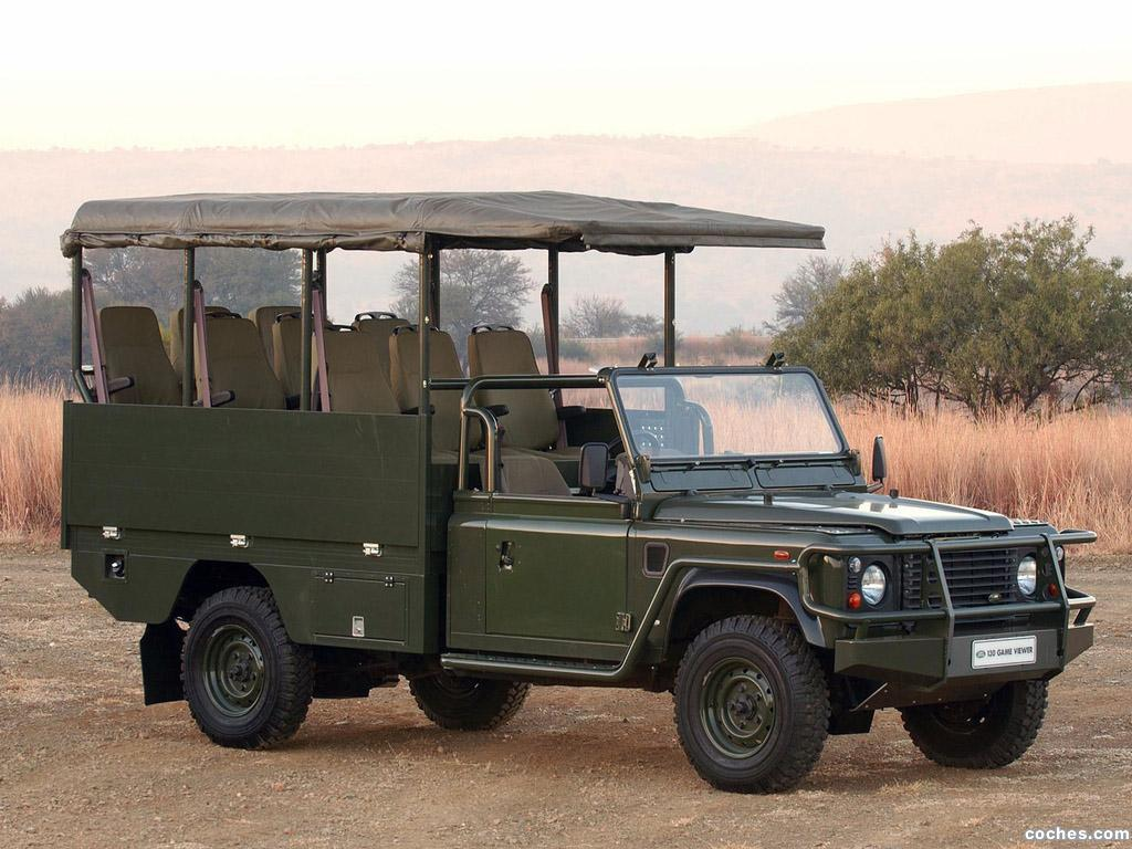 fotos de land rover defender 130 safari vehicles. Black Bedroom Furniture Sets. Home Design Ideas