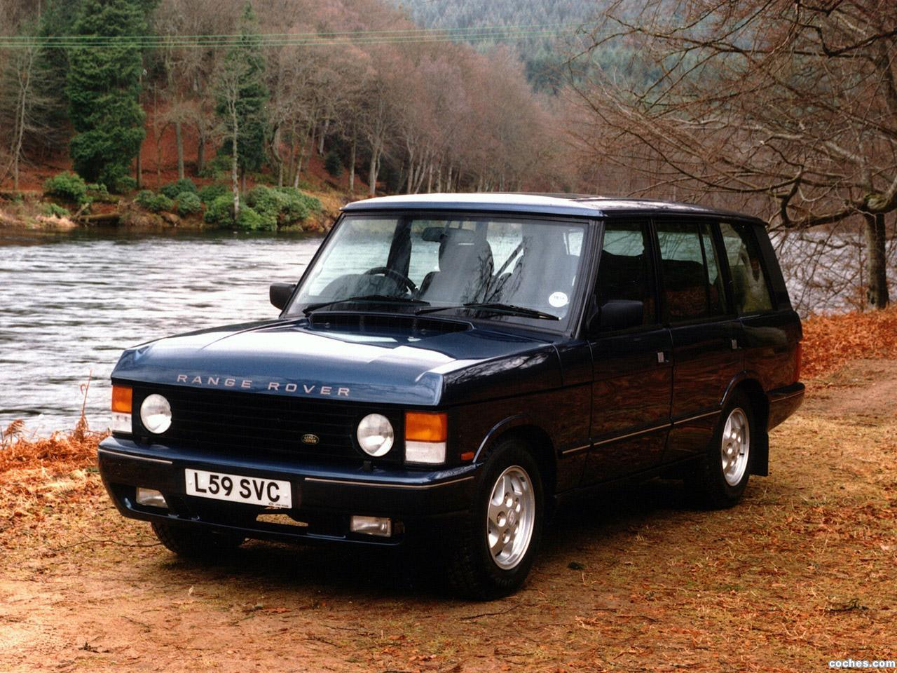 fotos de land rover range rover 5 puertas 1986. Black Bedroom Furniture Sets. Home Design Ideas