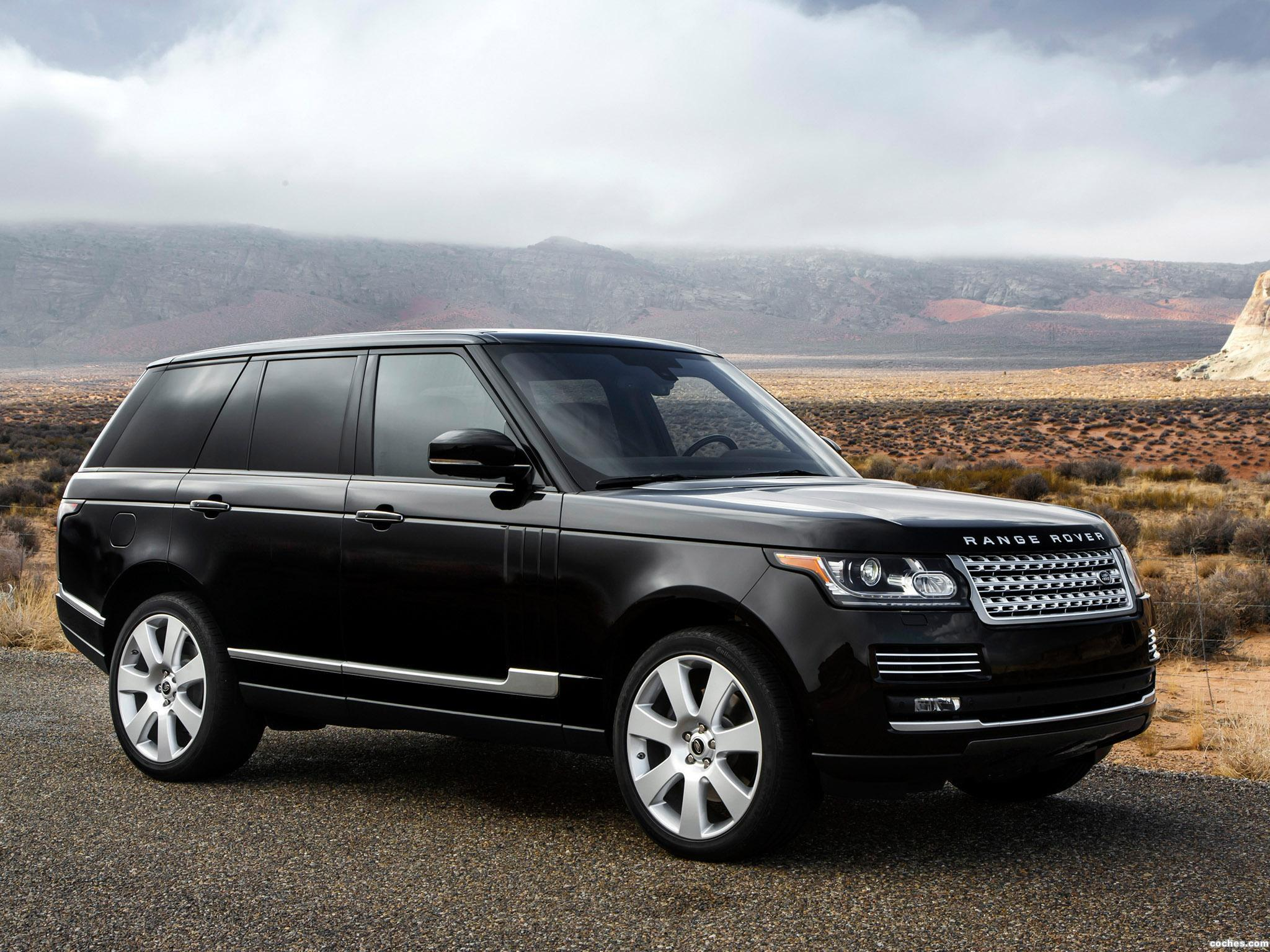 fotos de land rover range rover autobiography v8 usa 2013. Black Bedroom Furniture Sets. Home Design Ideas