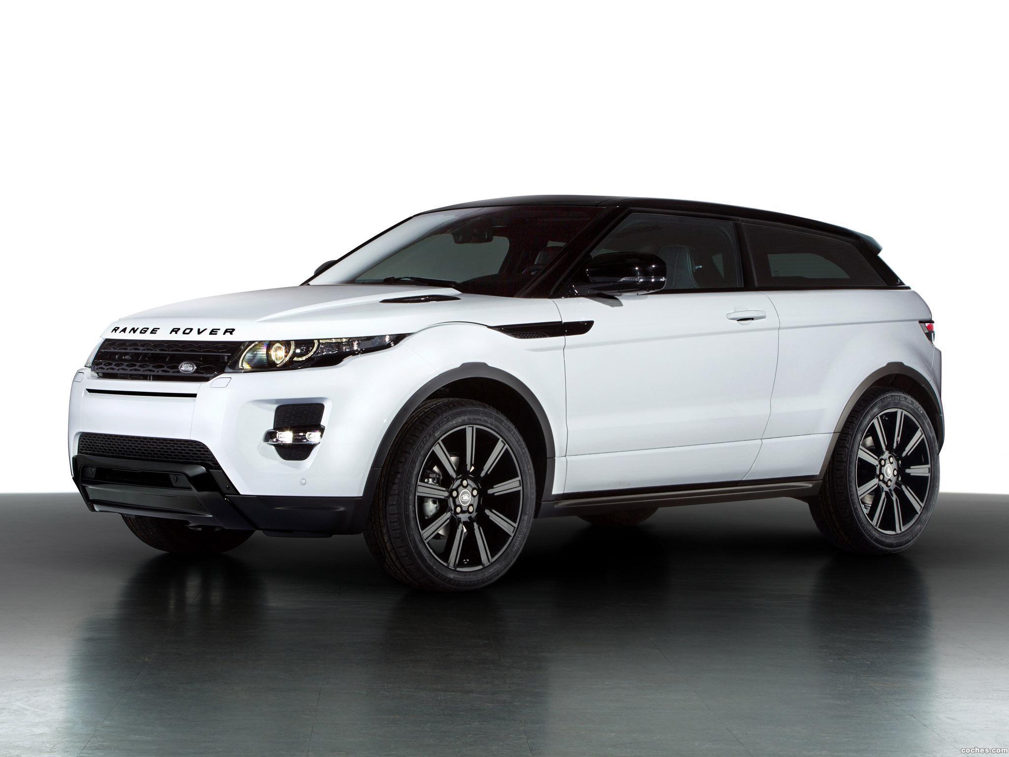 fotos de land rover range rover evoque coupe black design 2013. Black Bedroom Furniture Sets. Home Design Ideas