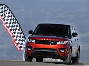 Land Rover Range Rover Sport Pikes Peak Hill Climb Record Car 2013