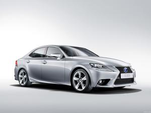 Lexus IS 300h Europe 2013