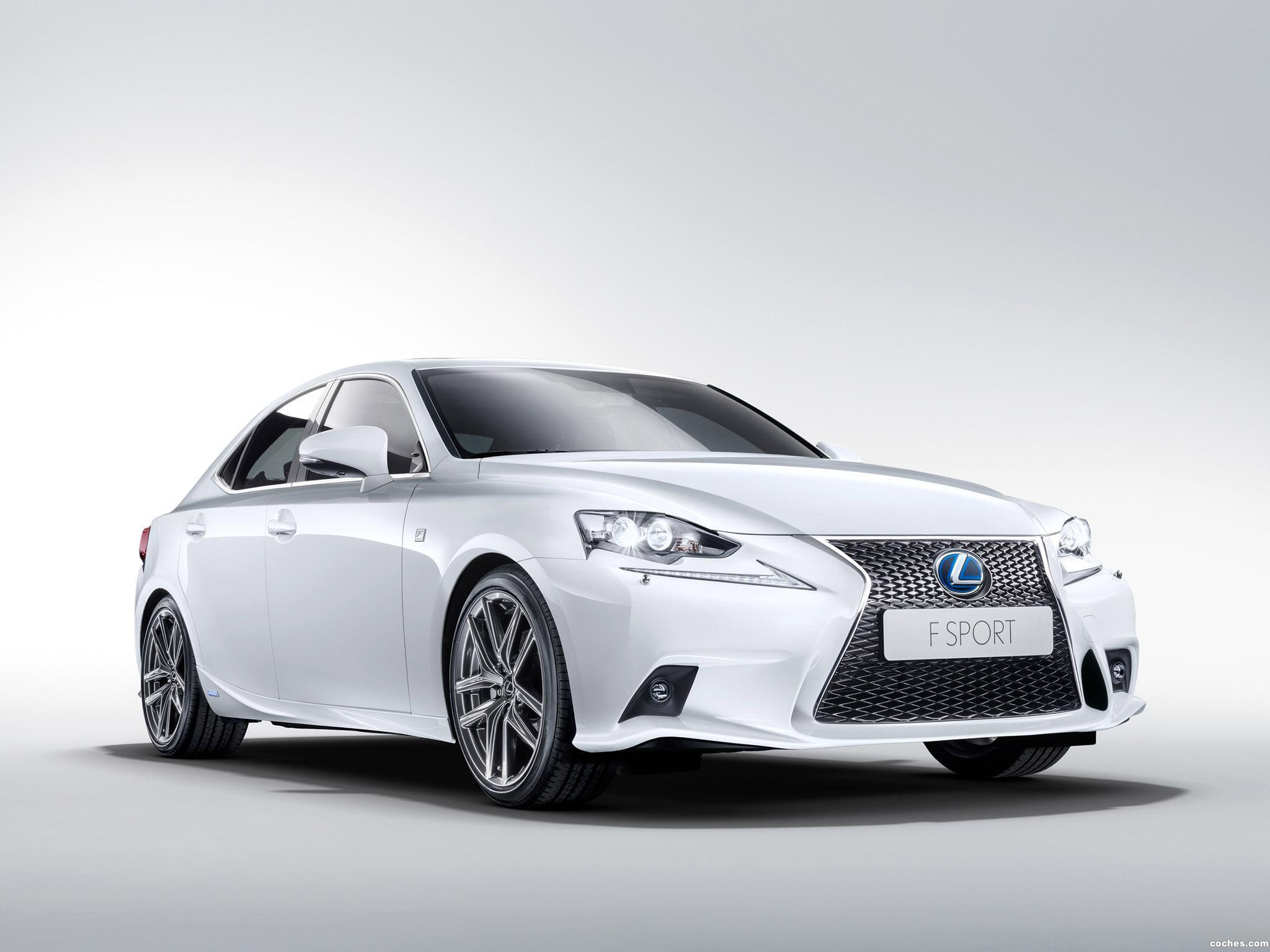 fotos de lexus is 300h f sport 2013. Black Bedroom Furniture Sets. Home Design Ideas