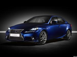 Lexus IS 300h F-Sport Europe 2013