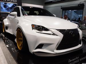 Lexus IS F-Sport Deviantart Robert Evans VIP Auto Salon 2013