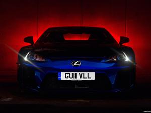 Lexus LFA UK 2010