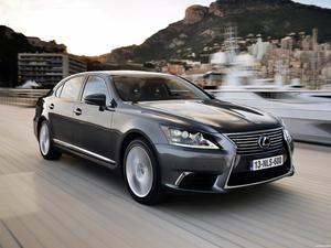 Lexus LS 600hL Europe 2013