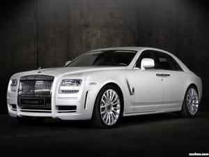 Rolls-Royce Ghost White mansory 2010