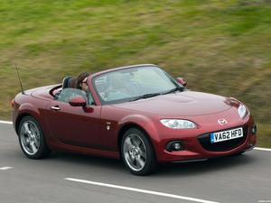 Mazda MX-5 Roadster Coupe Venture Edition UK 2013