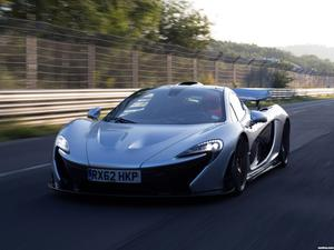 McLaren P1 Nurburgring Test Car 2013