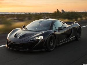 McLaren P1 XP7 Test Car 2013