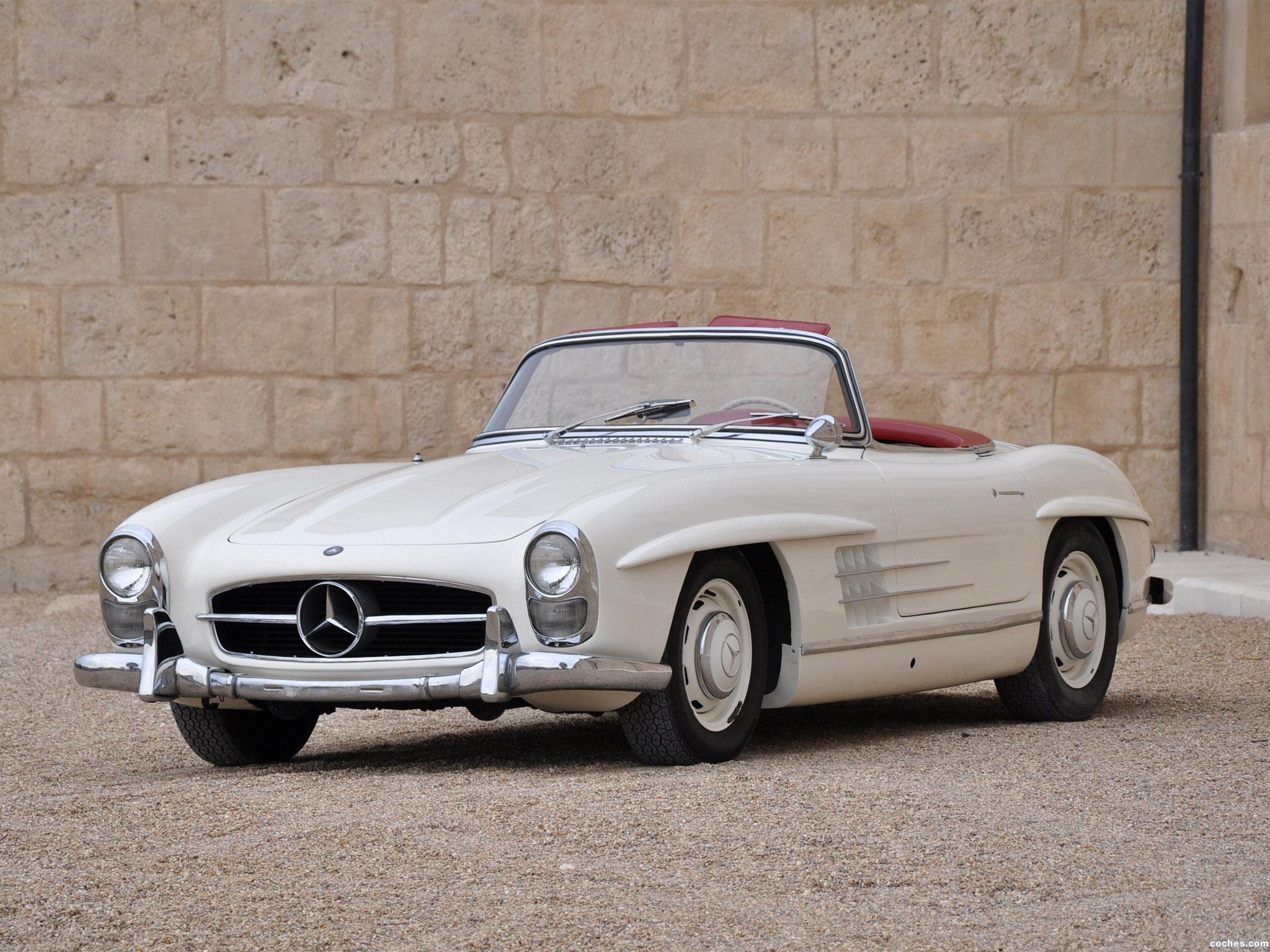 Fotos de mercedes 300sl r198 usa 1957 for Mercedes benz of america