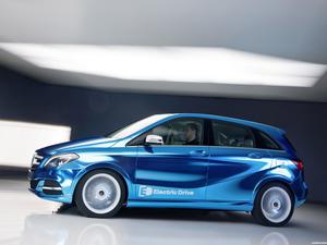 Mercedes Clase B Electric Drive Concept W246 2012
