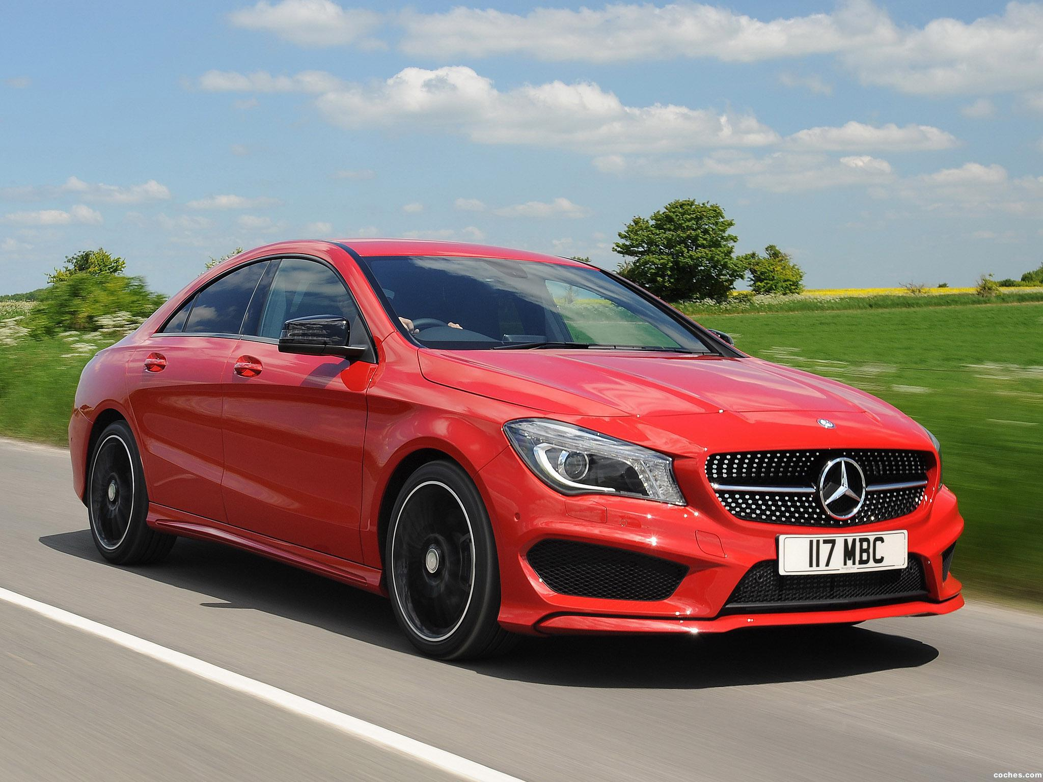 fotos de mercedes clase cla 220 cdi amg sports package c117 uk 2013. Black Bedroom Furniture Sets. Home Design Ideas
