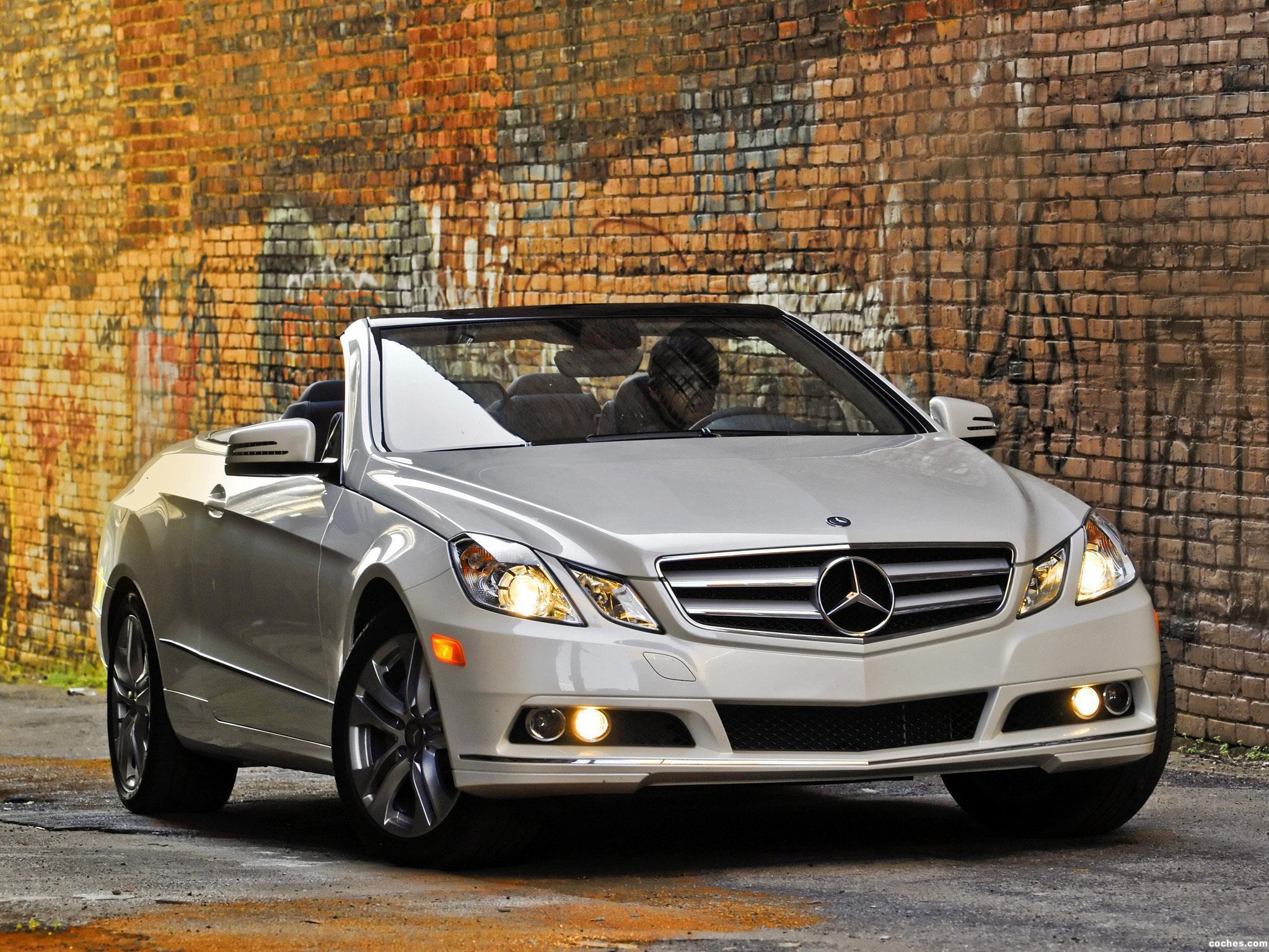fotos de mercedes clase e cabrio e350 usa a207 2010 foto 4. Black Bedroom Furniture Sets. Home Design Ideas