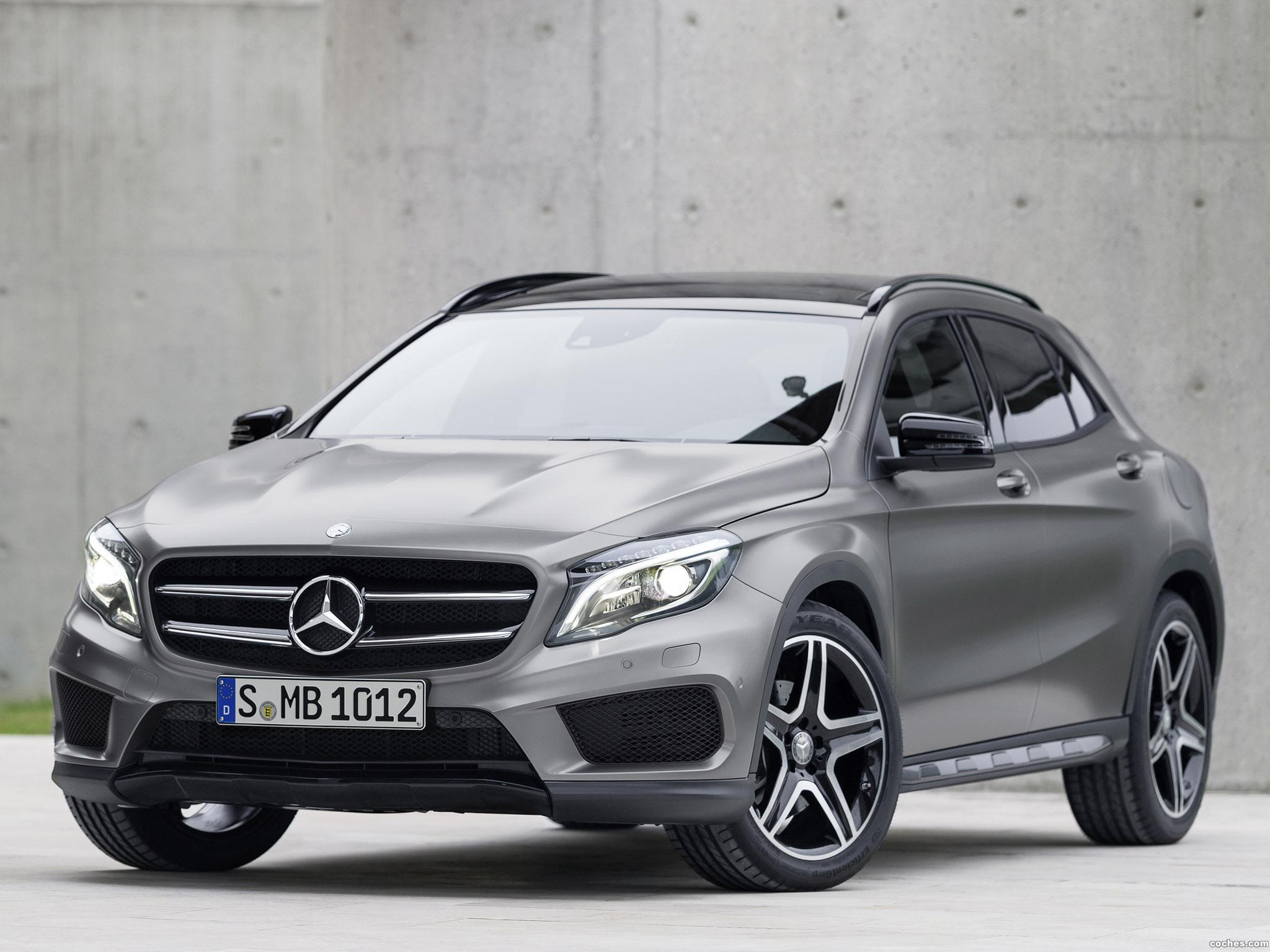 fotos de mercedes clase gla 250 4matic amg sport package x156 2014. Black Bedroom Furniture Sets. Home Design Ideas