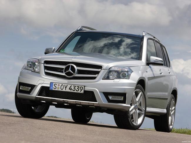 Mercedes GLK coche de lujo usado