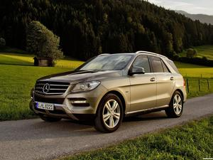 Mercedes Clase M ML 500 BlueEfficiency W166 2012
