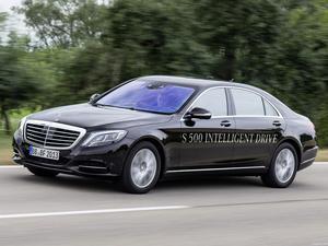 Mercedes Clase S S500 Intelligent Drive Prototype 2013