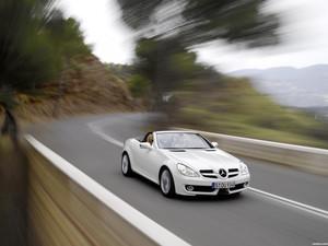 Mercedes SLK Facelift 2008