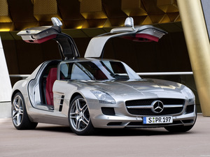 Mercedes SLS AMG Gullwing 2010