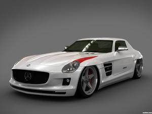Mercedes SLS Panamericana Body Package GWA 2010