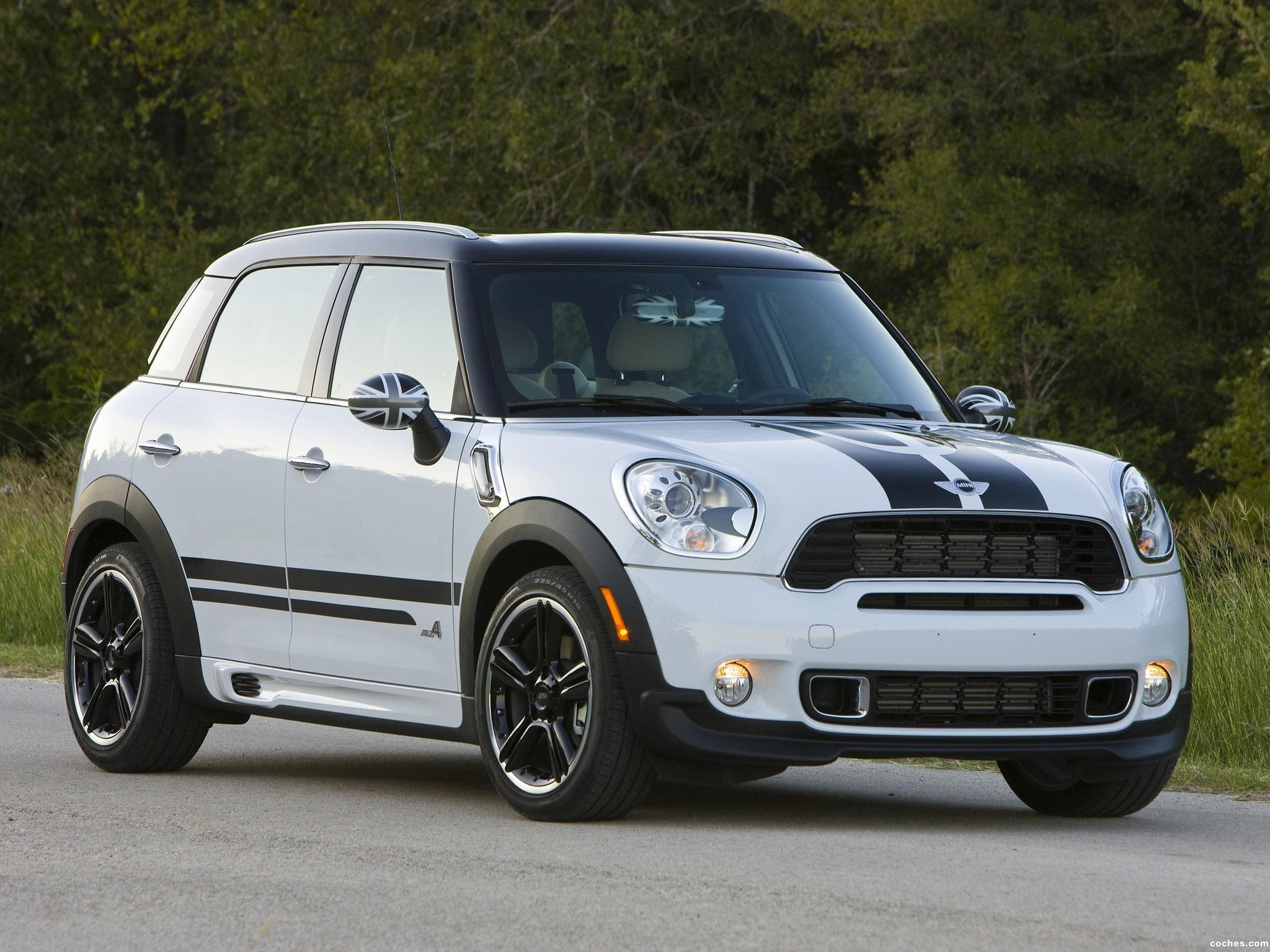 fotos de mini countryman cooper s all4 usa 2010. Black Bedroom Furniture Sets. Home Design Ideas