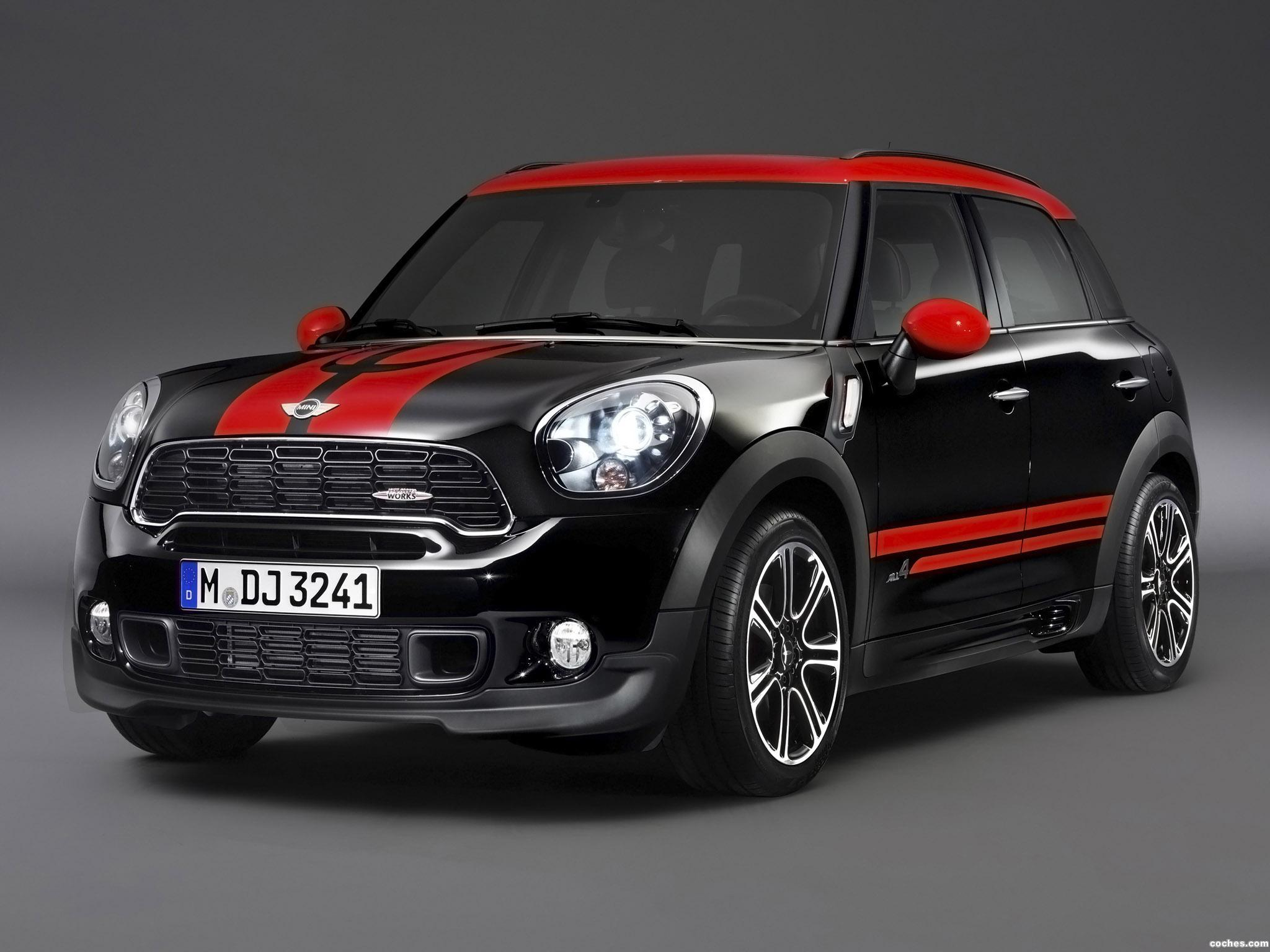 fotos de mini countryman jcw john cooper works r60 2012 foto 2. Black Bedroom Furniture Sets. Home Design Ideas